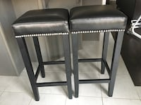 Set of 2 stools - Moving sale! $200 obo  Oakville
