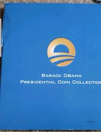 Barak Obama Presidential Coin Collection