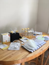 Breastfeeding pump and misc related items McLean