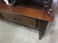brown wooden 2-drawer chest Bolton, L7E 3Z2