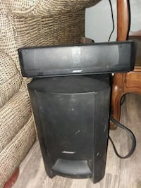 Bose subwoofer and unit w/front and top speakers Mishawaka