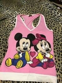 toddler's pink Mickey and Minnie mouse print tank top Toronto, M4T 1N9