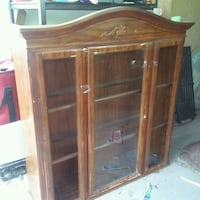 Two-piece china cabinet El Paso, 79907