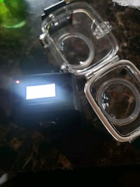 Blackfin 720 VR action camera and headset
