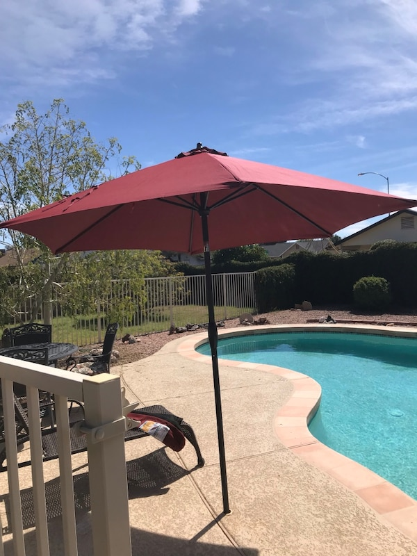 Hampton Bay Pool Umbrellas
