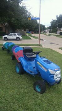blue and black ride on mower Dallas, 75227