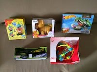 Set of 5 brand new toys. Never opened.  Castro Valley