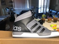 Pair of black/grey -and-white adidas sneakers San Diego, 92116