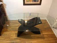 Beautiful glass top, dinning table , 11216