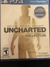 Uncharted The Nathan Drake Collection PS4 game case Tampa, 33612