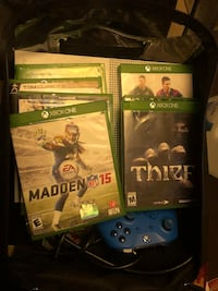 Xbox 1. One controller and 7 games.   Madden 15,their,,nba 2k16,,fifa15,,sunset overdrive ,,,rainbow seize,,,watch dog Bay Shore, 11706