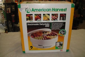 American Harvest Snackmaster Dehydrator 2200 NEW IN BOX UN USED 4891-11