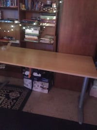 Solid table steel  frame