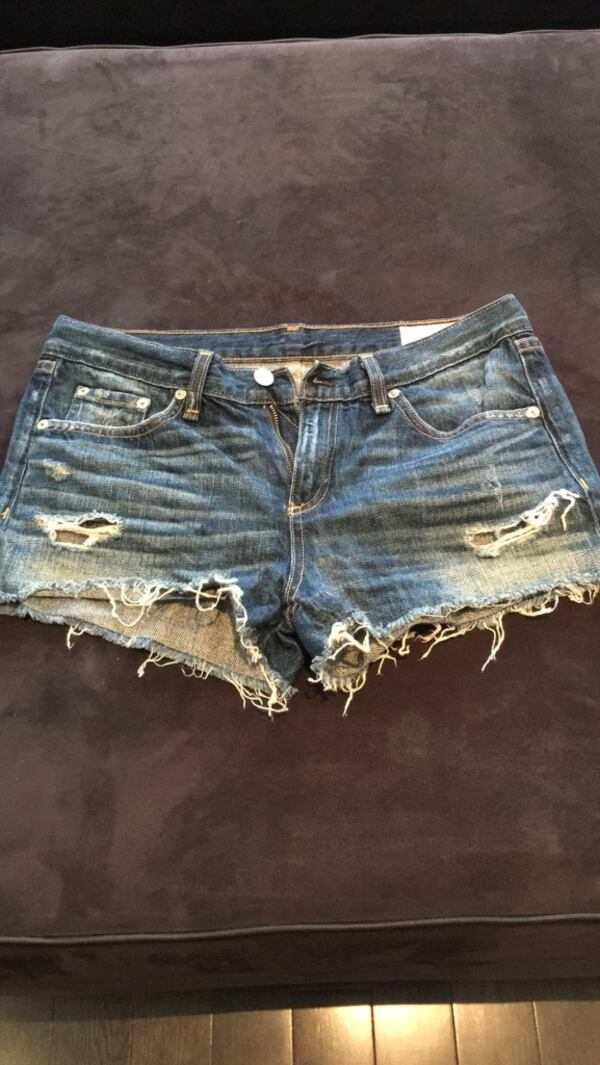 Rag & Bone jean shorts, women's size 27, never worn! 2