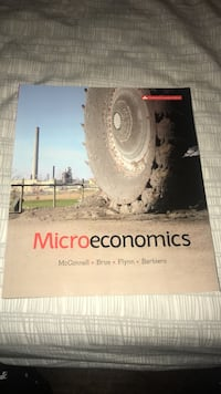 Microeconomics Textbook (McConnel) Oakville, L6M 5G4