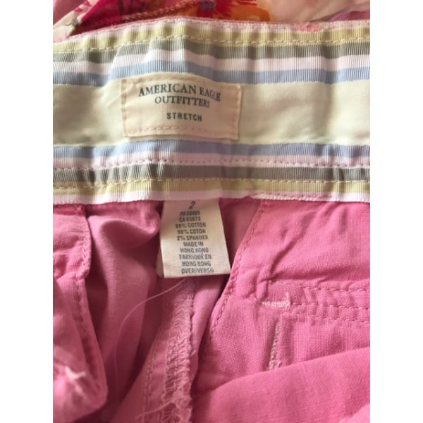 American Eagle Capris (pink with sash) 03737467-81c6-4591-9047-eb061bb22026