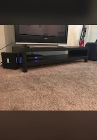 black and gray TV stand Orlando, 32837