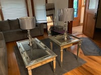 End Table + Coffee Tables + Lamps Chicago, 60644
