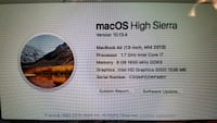 MacOs High Sierra system properties screengrab Orlando, 32803