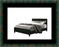 King platform bed with mattress 57 km