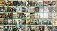 XBOX 360 BUNDLE WITH 64 GAMES AND 2 CONTROLLERS Pompano Beach, 33060