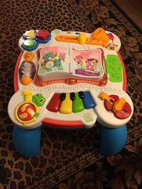 baby's white and blue activity table Bakersfield, 93305