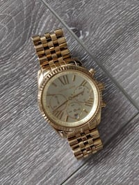 Authentic Michael Kors Gold Watch Vancouver, V6B 1X6