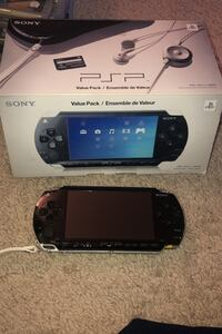 PSP Game console and games