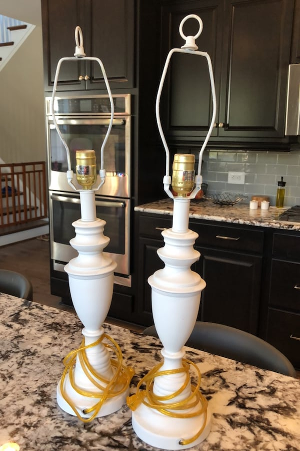 White (brass) lamps 681e4977-6289-4192-8734-aac5d99f9eef