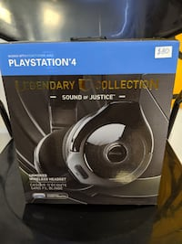 PS4 Legendary Collection Sound of Justice Bluetooth Headphones Hamilton