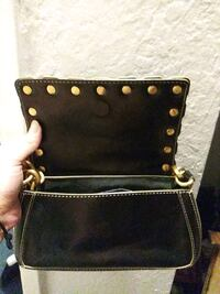 black and brown leather crossbody bag Citrus Heights, 95610
