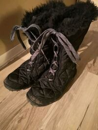 Columbia girls size 3 winter boots