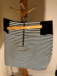 Striped Mini Skirt - Size Medium