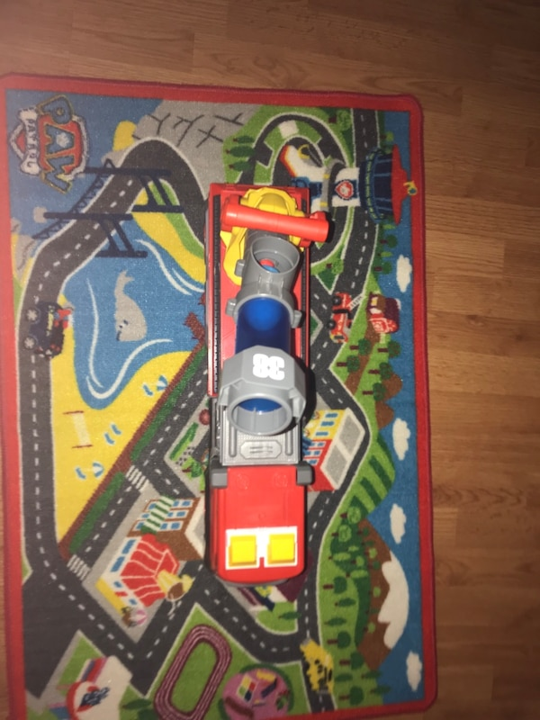 Paw patrol mat with large fire truck 59b71c55-3c4c-49fa-a527-4c9b82abaed7