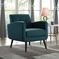 *Brand New in Box* 1 Caribbean Blue Araceli Armchair by Turn on the Brights Mississauga