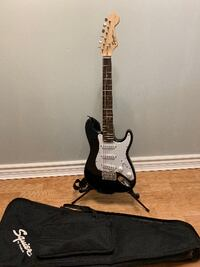 Squier Fender Mini Strat Guitar +  Stand, Strap and Case Mississauga