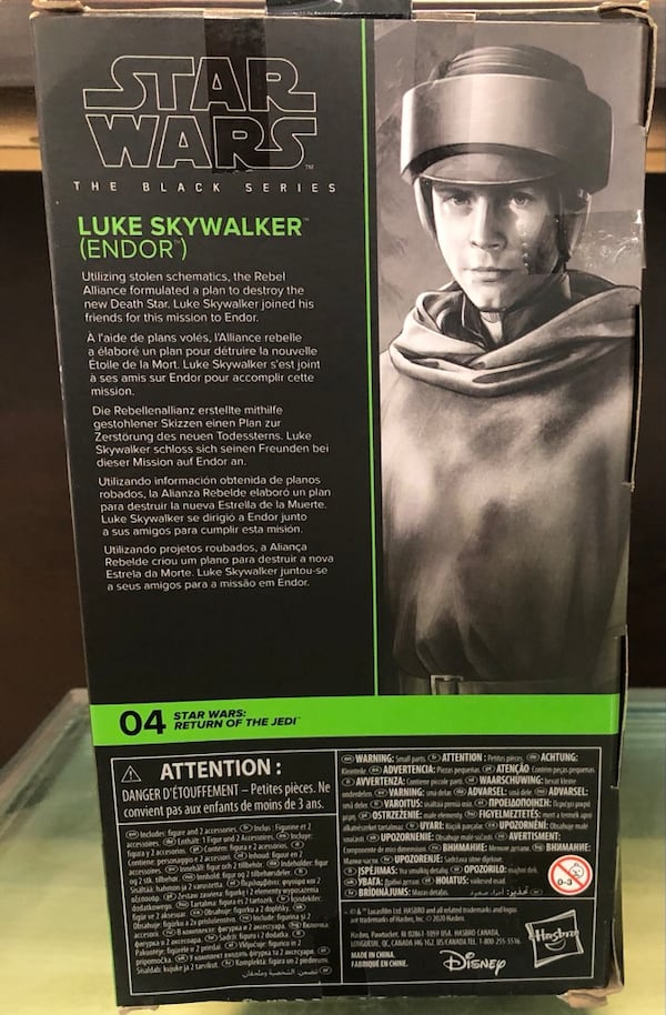 Star Wars The Black Series Luke Skywalker Endor 891a46a8-2cb4-44a7-a9a7-548efa749edd