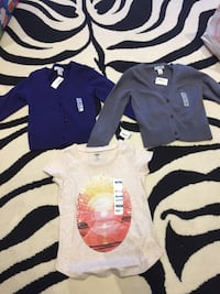 BNWT Old navy cardigans and tshirt Toronto, M1W 3L8