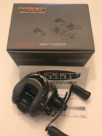 Duckett Pro-Driven baitcaster fishing reel 300RG