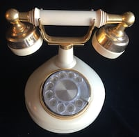 Vintage Celebrity Princess Rotary Dial Telephone Western Electric Ivory Las Vegas, 89117
