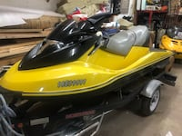 black and yellow personal watercraft null, N4G 2S2