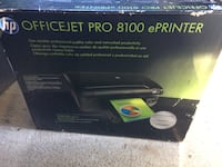 HP officejet Pro 8100 ePrinter box