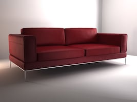 100% real leather cuero. Arild Sofa King and chair