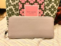 New Lilac Kate Spade Genuine Leather Wallet W/ Tags Markham, L3S 3N2