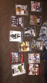 PS3 game case collection