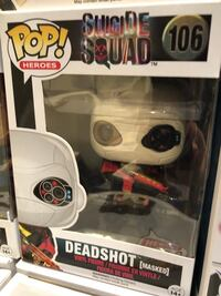 Suicide Squad set of 4 Funko POP dc comics Toronto, M4K 2H9