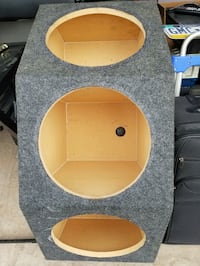 Crown Style, Tripple Subwoofer Enclosure!