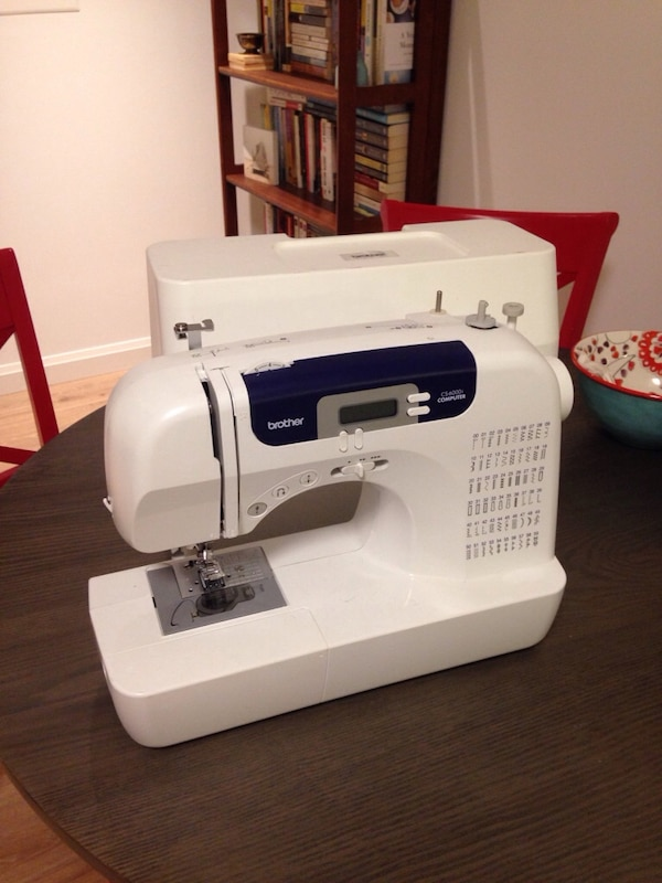 Used Brother Sewing Machine CS40i Computer For Sale In Boston Letgo Extraordinary Brother Sewing Machine Cs6000i