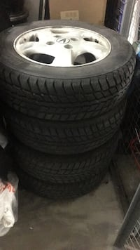 Winter Tires with Acura Rims (set of 4) Toronto, M9A 4M7