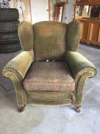 Antique Wingback Chair Barrie